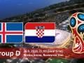 Исландия – Хорватия: когда матч и где смотреть