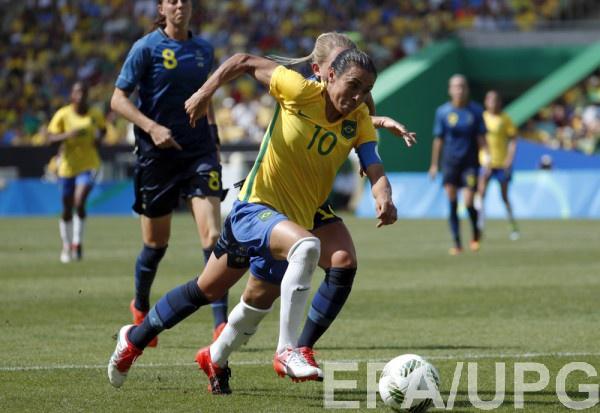 Футболистки сборной Германии пробились вфинал олимпийского турнира наИграх вРио