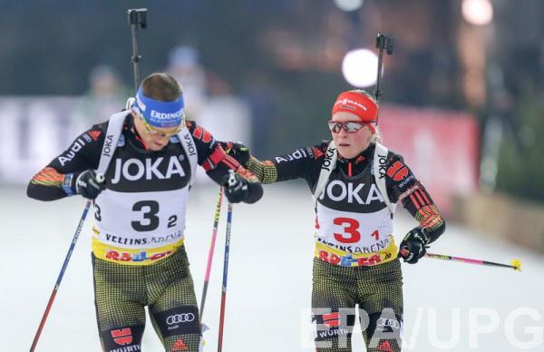 Лессер и Хильдебранд финишировали вторыми