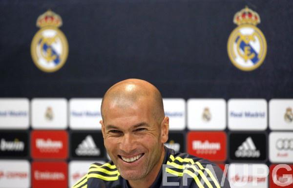 Зидан подчеркнул равенство игроков Реала