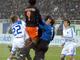 Кравец и Мориентес атакуют Сесара / Фото Тая Стеценко / uaSport.net