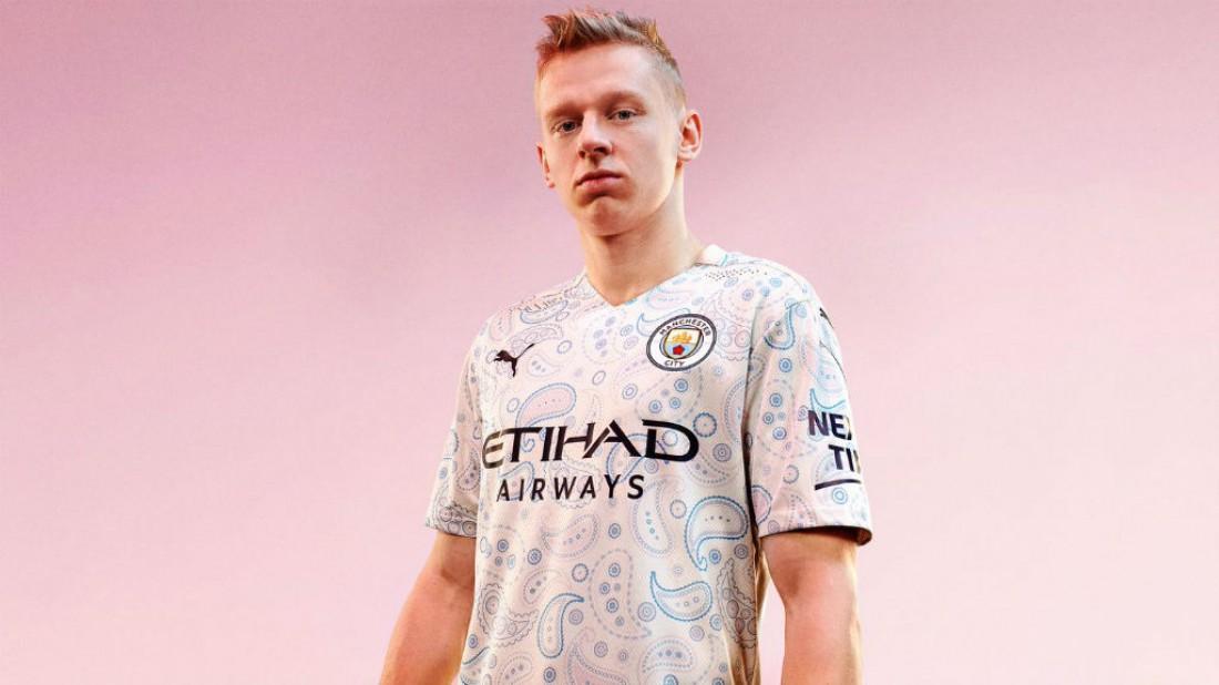 Манчестер Сити представил третий комплект формы