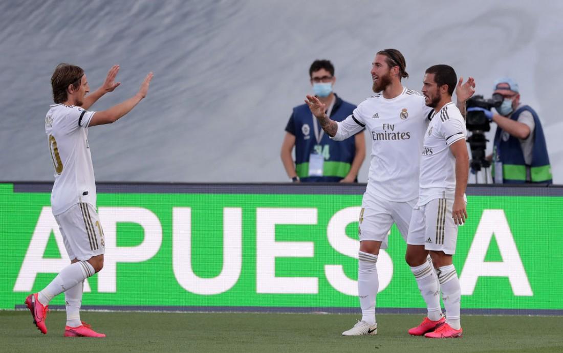 Реал - Эйбар: видео голов и обзор матча