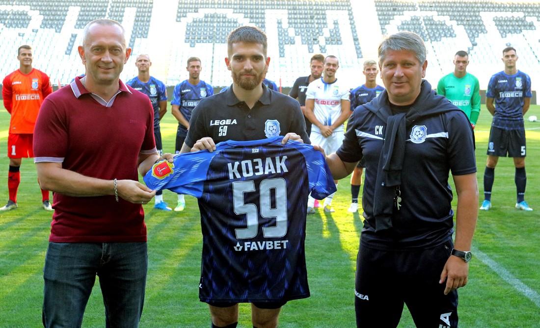 Черноморец представил новичков команды