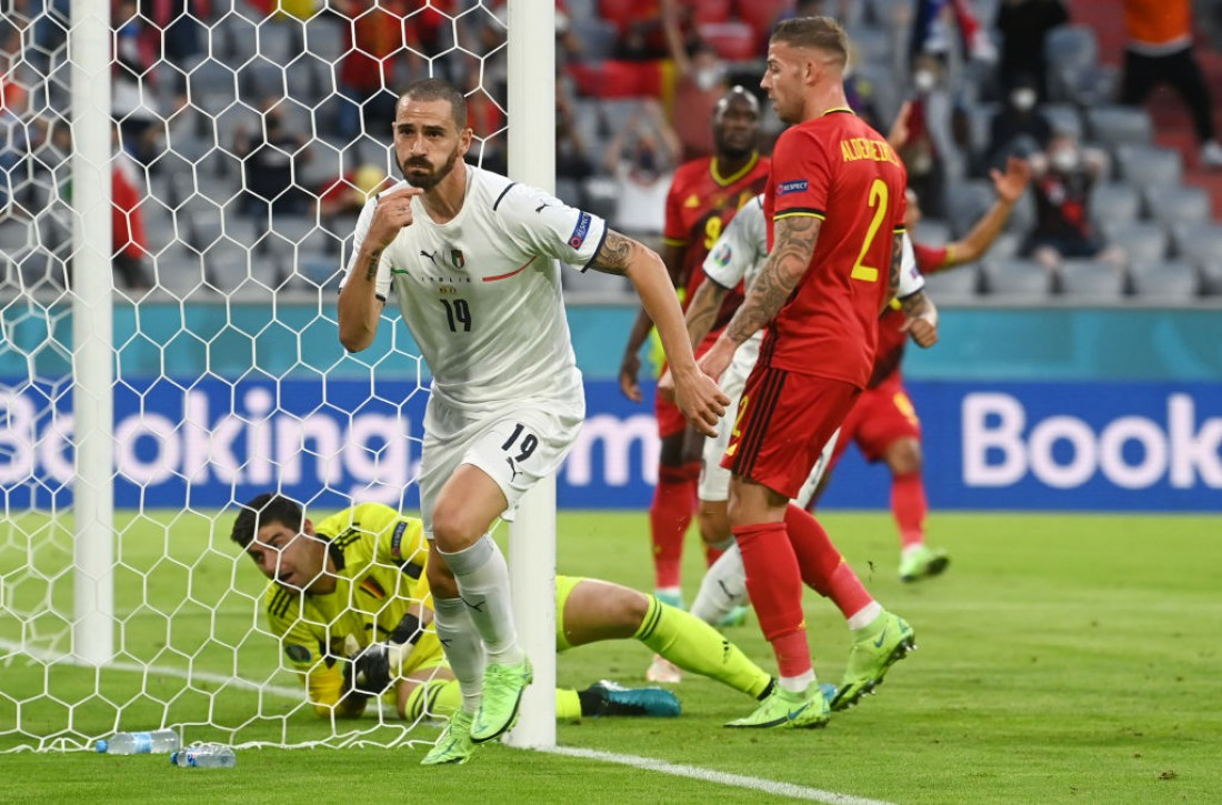 Италия обыграла Бельгию