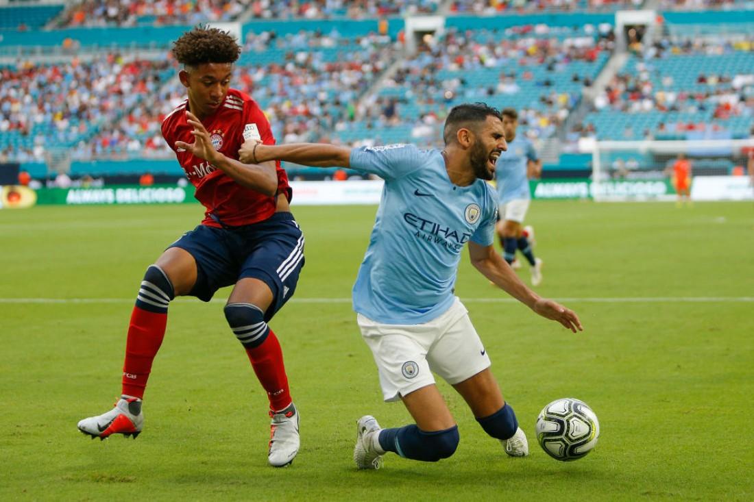 Рияд Марез получил травму в матче с Баварией