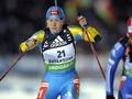Оксана Хвостенко попала в десятку лучших снайперов мирового биатлона