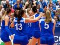 Женская сборная Украины по волейболу победила в первом матче финала
