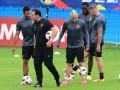 Тренировка сборной Бельгии накануне матча Евро-2016 против Уэльса