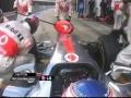 Глупая ошибка механика. Баттон завершил гонку из-за плохо прикрученного колеса