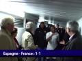 Счастье в раздевалке. Сборная Франции радуется ничьей с Испанией
