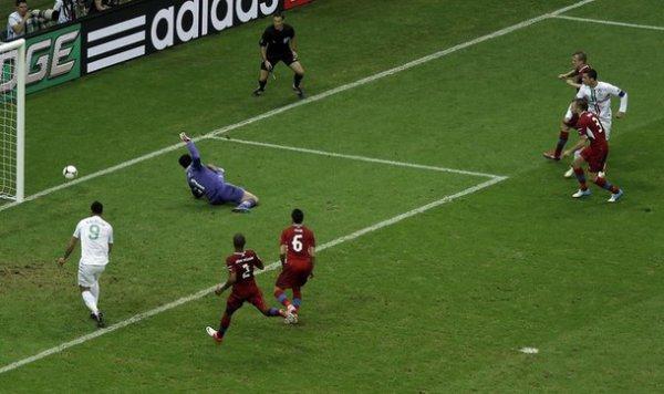 Роналдо все сделал классно, но не забил