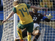 Бретт Холман забивает первый гол своей сборной на ЧМ-2010
