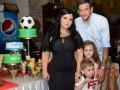 Защитник Динамо отпраздновал новоселье в Македонии (фото)