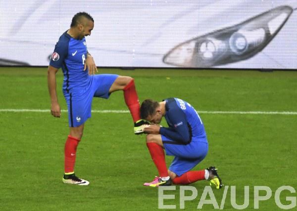 Пайе и Гризманн вывели Францию в полуфинал Евро-2016