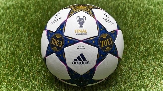 Официальный мяч финала Лиги чемпионовна Уэмбли