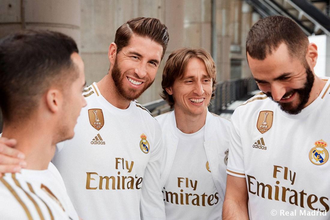 Реал представил новую домашнюю экипировку