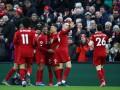 В Сеть попало видео с бурной реакцией игроков Ливерпуля на победу в АПЛ