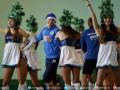 Футболисты Днепра поиграли в баскетбол и гандбол на Рождественских встречах (ФОТО)