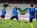 Турция - Украина: Как желто-синие тренировались в Конье