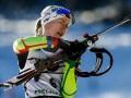 Биатлон: Домрачева выиграла масс-старт в Оберхофе, Семеренко - седьмая