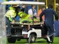 Вратарь сборной России был доставлен в больницу с ожогами и сотрясением