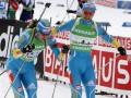 ЧМ по биатлону: Украинцы завоевали бронзу в эстафете