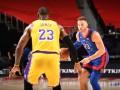 НБА: Лейкерс проиграл Детройту Михайлюка, Хьюстон обыграл Портленд