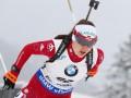 Домрачева выиграла спринт на заключительном этапе Кубка мира в сезоне