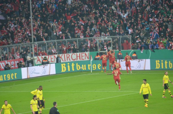 Роббен забивает, Бавария - празднует!