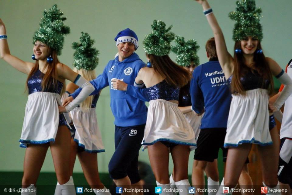 Футболисты Днепра приняли участие в турнире Рождественские встречи