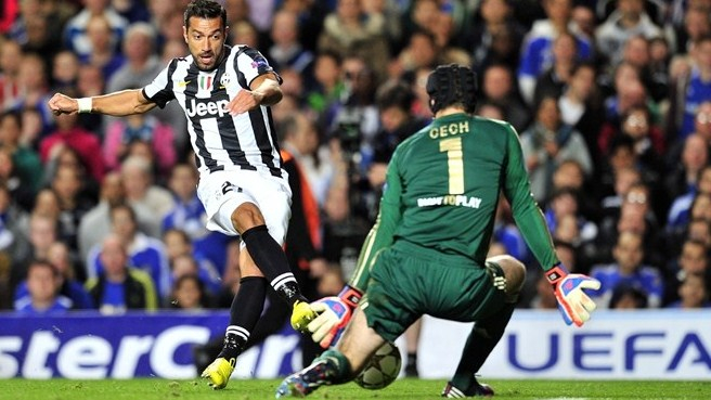 В первом туре Ювентус и Челси разыграли красивую ничью 2:2