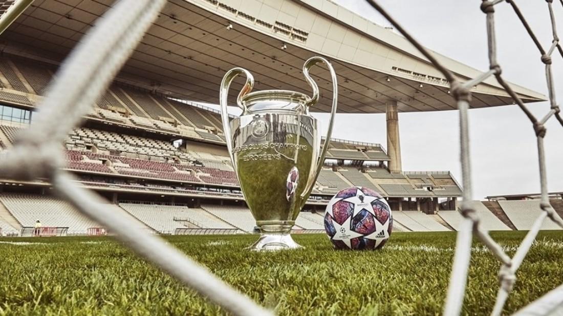 Официальный мяч плей-офф и финала Лиги чемпионов