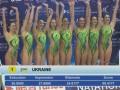Украинские синхронистки выиграли три медали на первом этапе Мировой серии