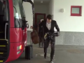 Защитник Баварии облился кофе по дороге к автобусу