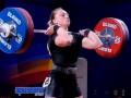 Марущак стала чемпионкой Европы по тяжелой атлетике