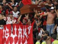 Фанаты в Колумбии принесли на матч гроб с телом погибшего друга