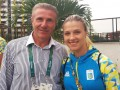 Ольга Харлан будет нести флаг Украины на церемонии закрытия Олимпиады
