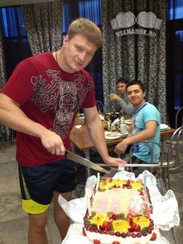 Поветкин показал секрет подготовки к бою с Кличко