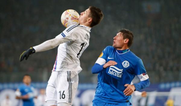 Днепр безрезультативно весь матч пытался найти брешь в защите Базеля