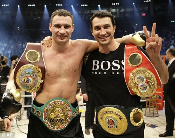 Братья Кличко - самые видные спортсмены
