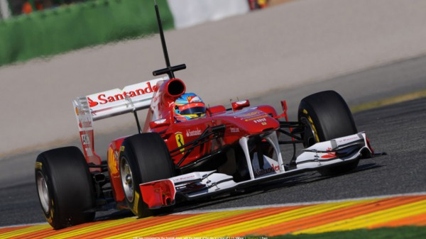 Ferrari F150th Italia стала фартавой лишь на одной этапе Формулы-1