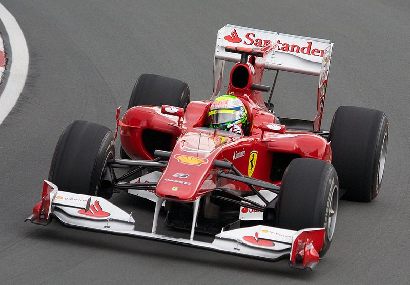 Фелипе Масса за рулем F10 в Канаде