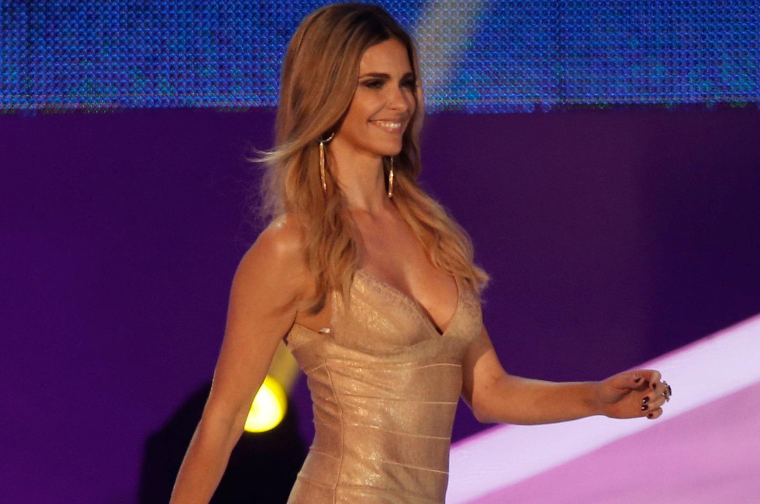 Фернанда Лима на церемонии жеребьевки ЧМ-2014