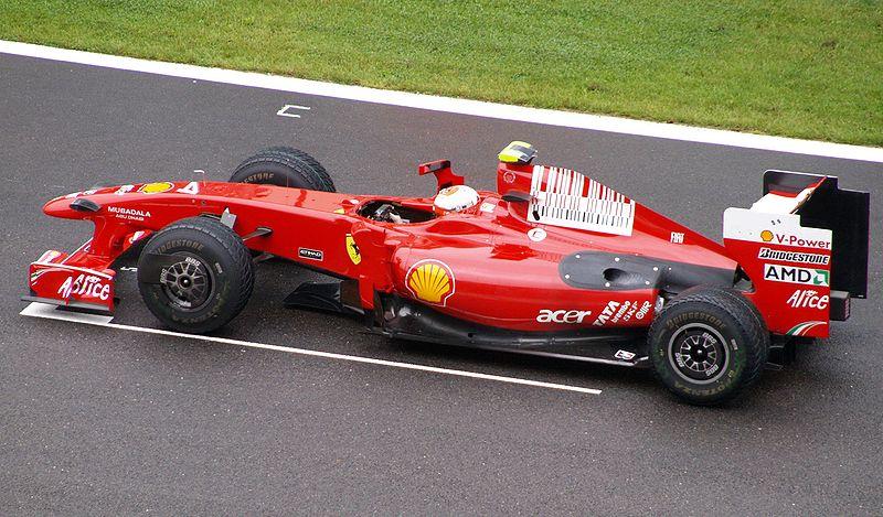 Райкконен за рулем Ferrari F60 в Бельгии
