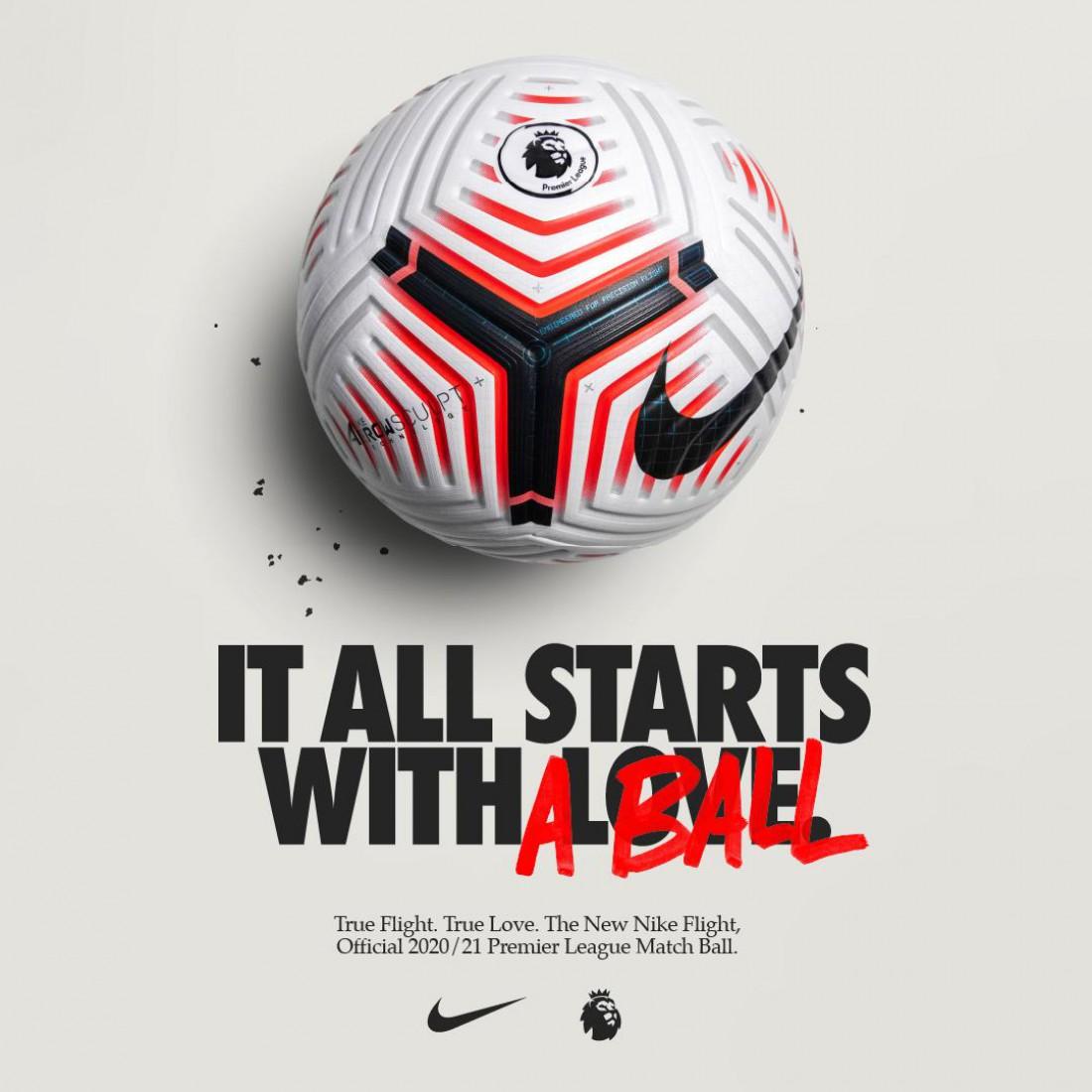 Дизайн нового мяча АПЛ на сезон-2020/21