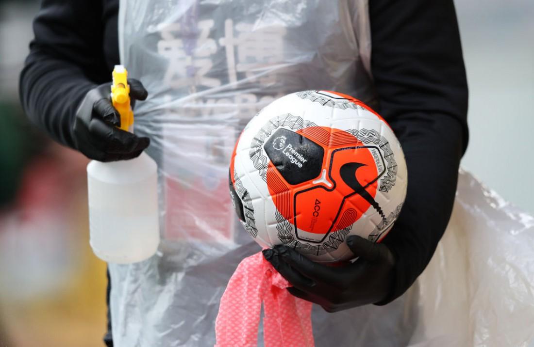 Мяч, которым играли в АПЛ в сезоне-2019/20