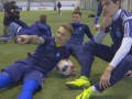 Футболисты киевского Динамо приняли участие в Mannequin Challenge