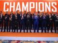 Шахтер наградили золотыми медалями чемпионата Украины