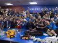 Президент Хорватии отпраздновала победу над Россией в раздевалке сборной